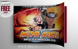 Free Anime Ninja Gold