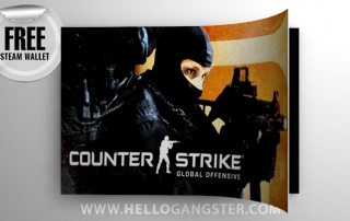 Free Counter-Strike Global Offensive Steam Wallet