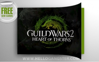 Free Guild Wars 2: Heart of Thorns Gem Cards