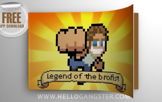 Free PewDiePie Legend of Brofist